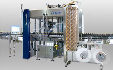 Labelling machine of Krones AG